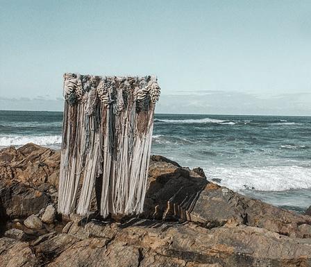 Obra textil de Vanessa Barragao