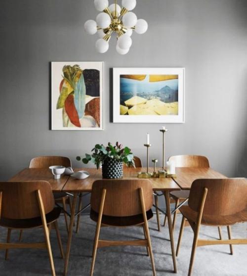 estilo Mid Century modern - vía kmehomes.blogspot.com