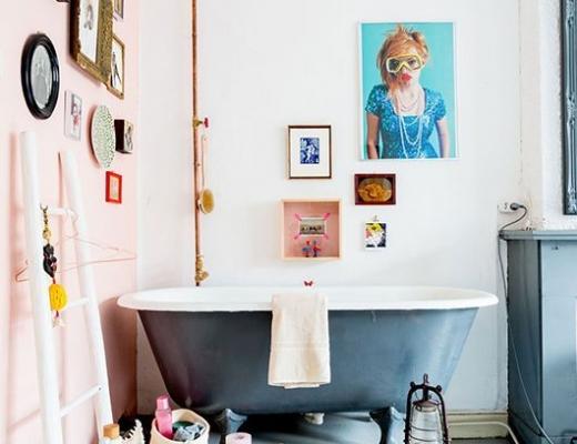 Decorar con Arte en el baño_foto de Hans Mossel para Vtwonen
