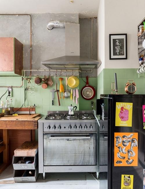Decorar con Arte en la cocina_foto de Hans Mossel para Vtwonen
