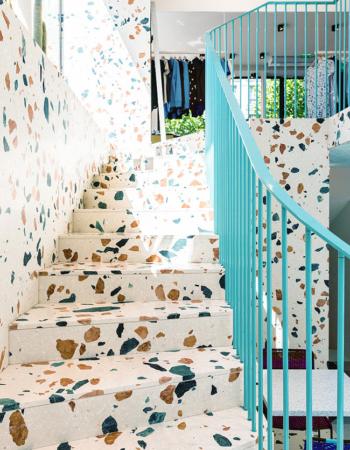 Terrazo 3- por estudio HA-AU para Maison Kitsune