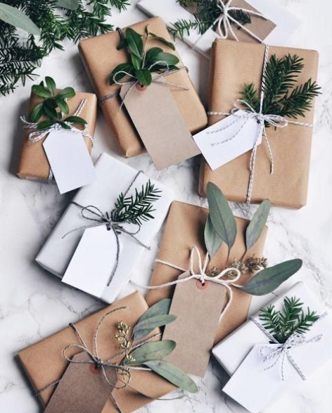 envolver regalos natu4