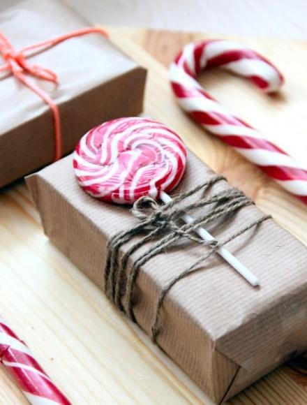 envolver regalos natu6