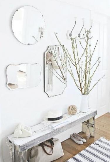 Espejos que multiplican la luz y la amplitud en espacios estrechos_via Dicoro.com